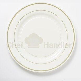 Mystique 440 Piece Elegant Plastic Plate Set & Elegant Plastic Plates | Wayfair