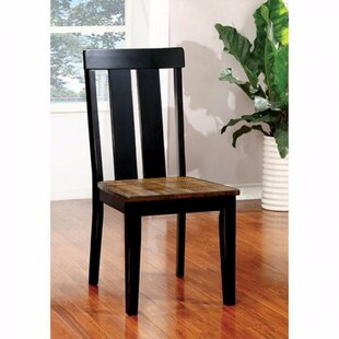 Niamh Solid Wood Dining Chair (Set of 2) Red Barrel Studio