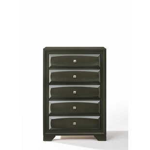 Affordable Price Hersacher 5 Drawer Chest by Latitude Run