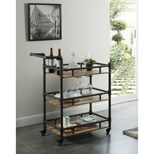 Parham Serving Bar Cart by Williston Forge