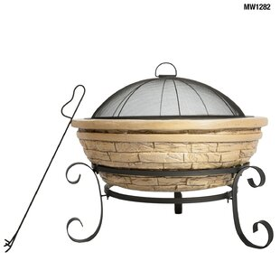 Old Frontier Stone Wood Burning Fire Pit By Imperial Home