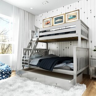 Schofield Bunk Bed with Trundle by Harriet Bee