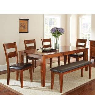 Mango 6 Piece Extendable Dining Set Loon Peak