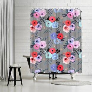 East Urban Home Emanuela Carratoni Handmade Garden Shower Curtain
