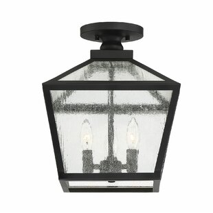 Dunshee 3-Light Outdoor Flush Mount