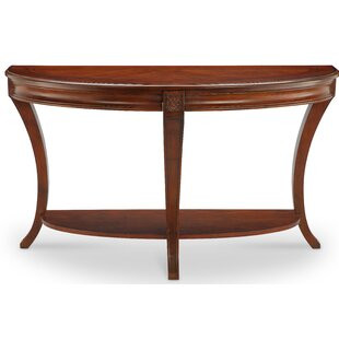 Stephenson Demilune Console Table