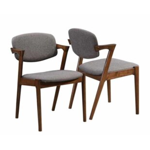 Brockway Upholstered Dining Chair (Set Of 2) Purchase