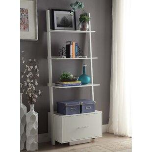 Carlucci Ladder Bookcase Mercury Row