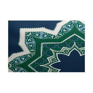 Soluri Navy Blue Indoor/Outdoor Area Rug