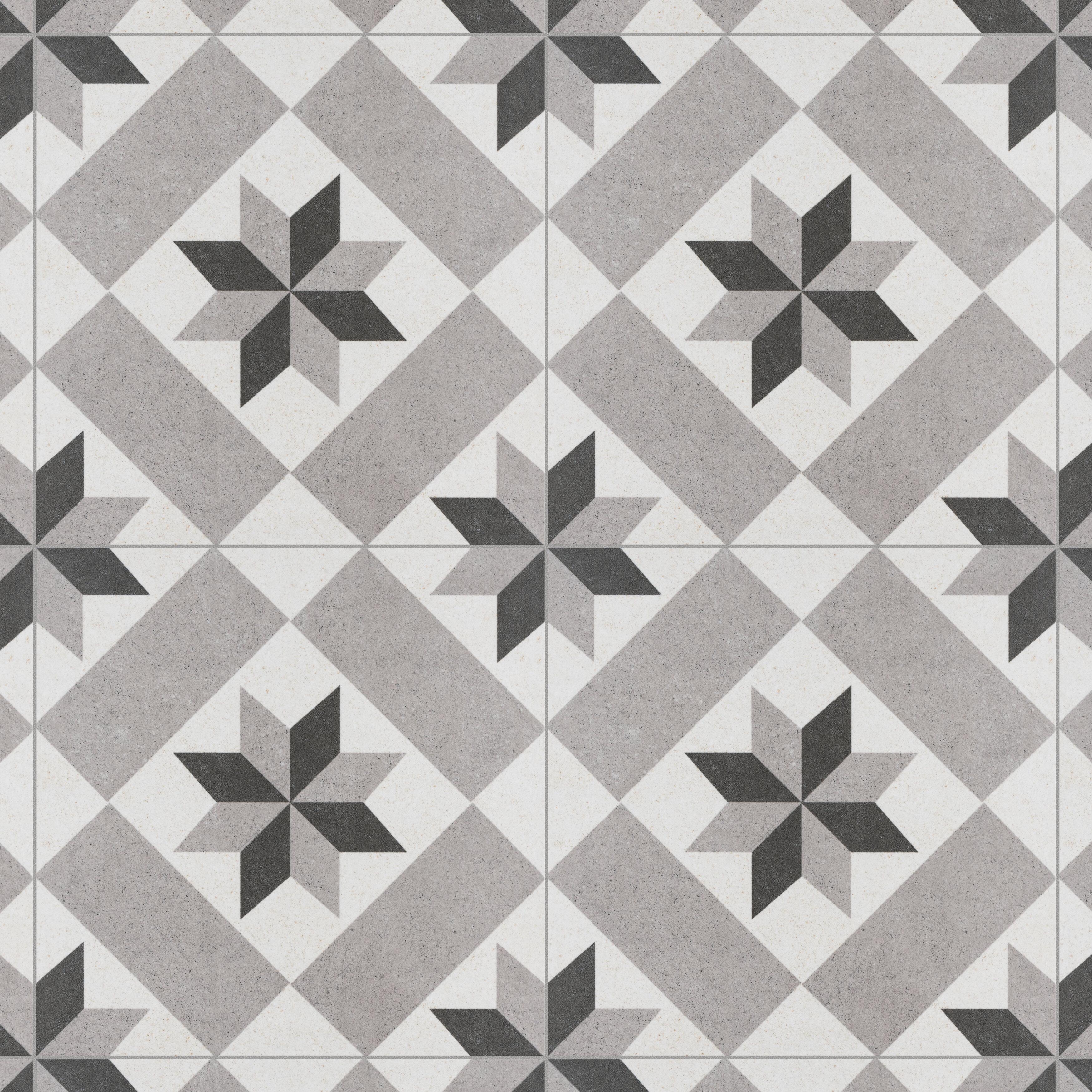Elitetile Annata Star 10 X 10 Porcelain Wall Floor Tile Wayfair