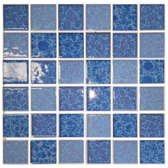Abolos Monet 12 X 12 Porcelain Mosaic Tile Wayfair