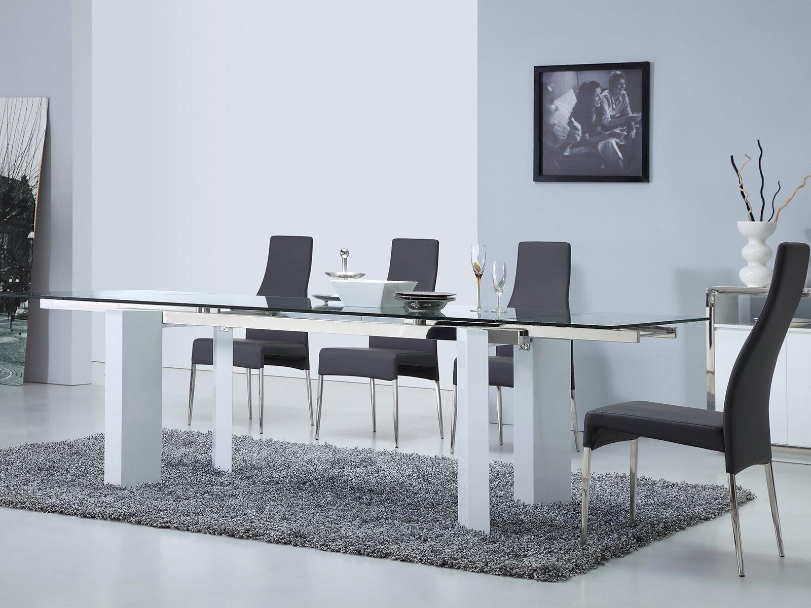 Casabianca Furniture Torino Extendable Dining Table | Wayfair
