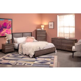 Tufo Queen Panel 4 Piece Bedroom Set