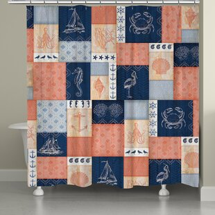 Coastal Single Shower Curtain