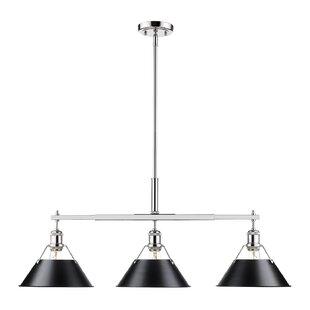 Trent Austin Design Weatherford Linear 3-Light Kitchen Island Pendant