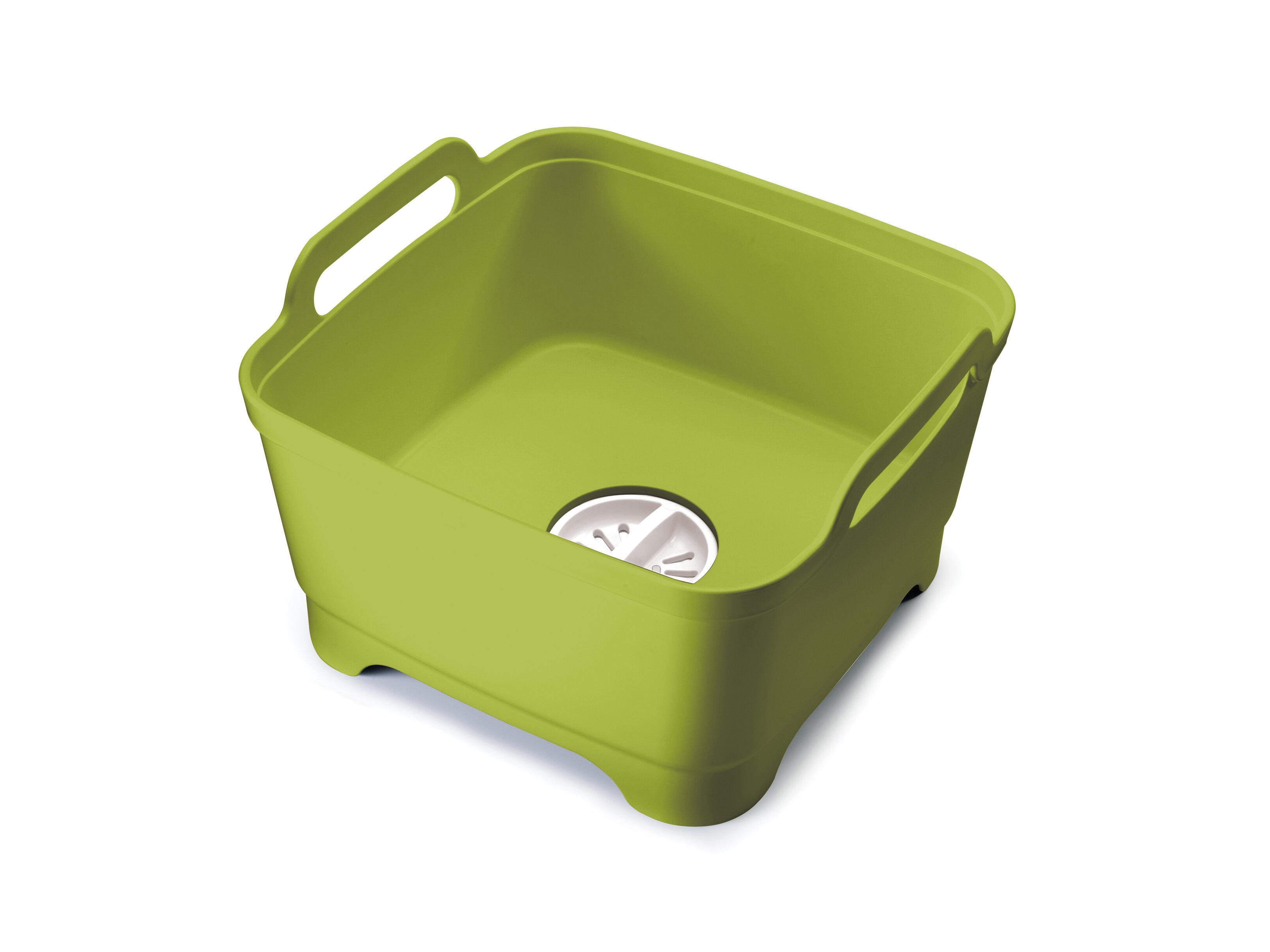 Sink Dish Pan Plastic Washing Basin Kitchen Household Dishwashing Tub Foot Soak