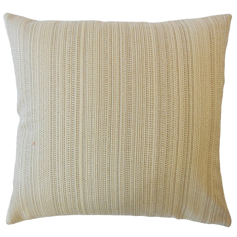 Rosecliff Heights Hampden Striped Down Filled Throw Pillow Wayfair