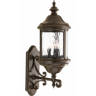 High-End Drumakeely 3-Light Outdoor Wall Lantern By Alcott Hill