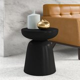 Marvella Pedestal End Table