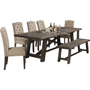 Laurel Foundry Modern Farmhouse Colborne 6 Piece Dining Set