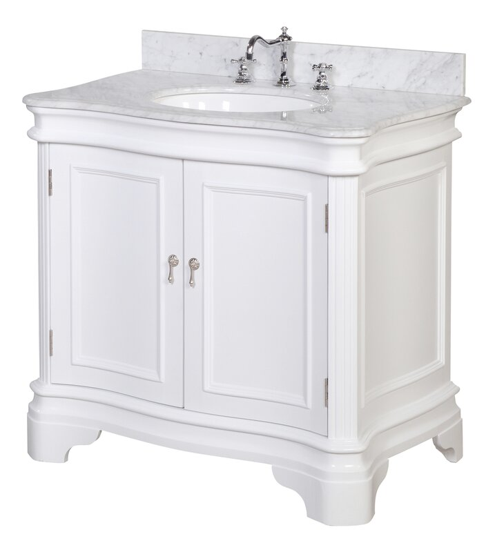 wayfair bathroom vanities. Katherine 36  Single Bathroom Vanity Set KBC Reviews Wayfair