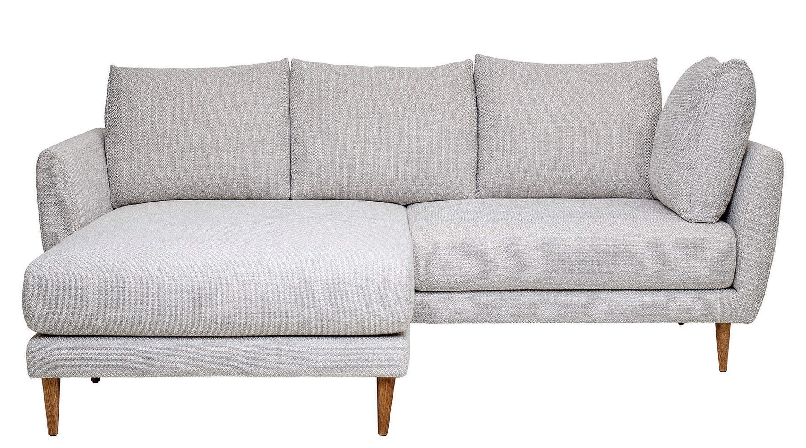 Theda Modular 85 Round Arm Sofa Chaise