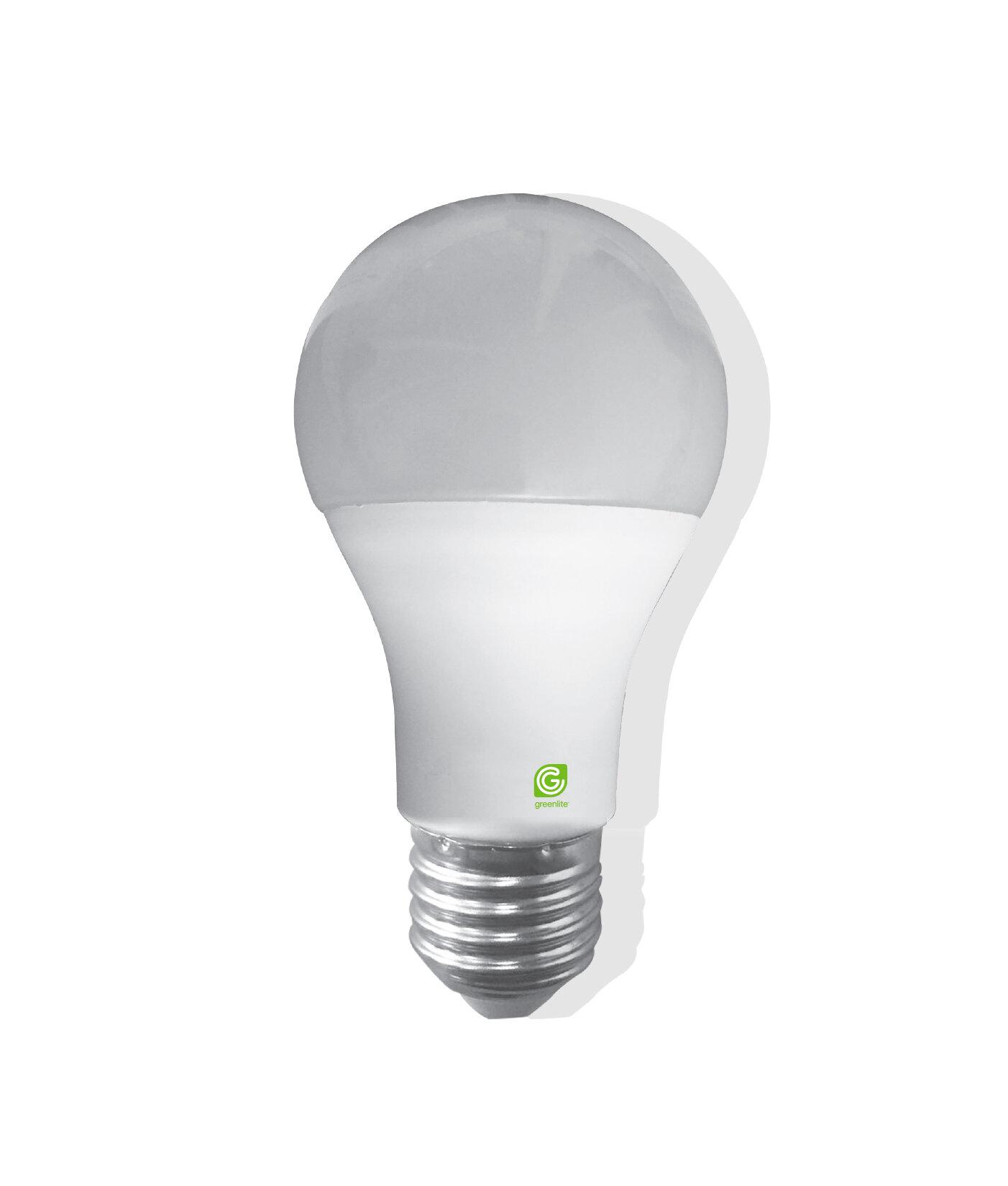 Greenlite 11 Watt 75 Watt Equivalent A19 Led Smart Dimmable Light Bulb Warm White 2700k E26 Medium Standard Base Wayfair Ca