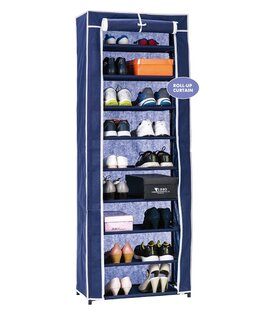9-Tier 18 Pair Shoe Rack ByWee's Beyond