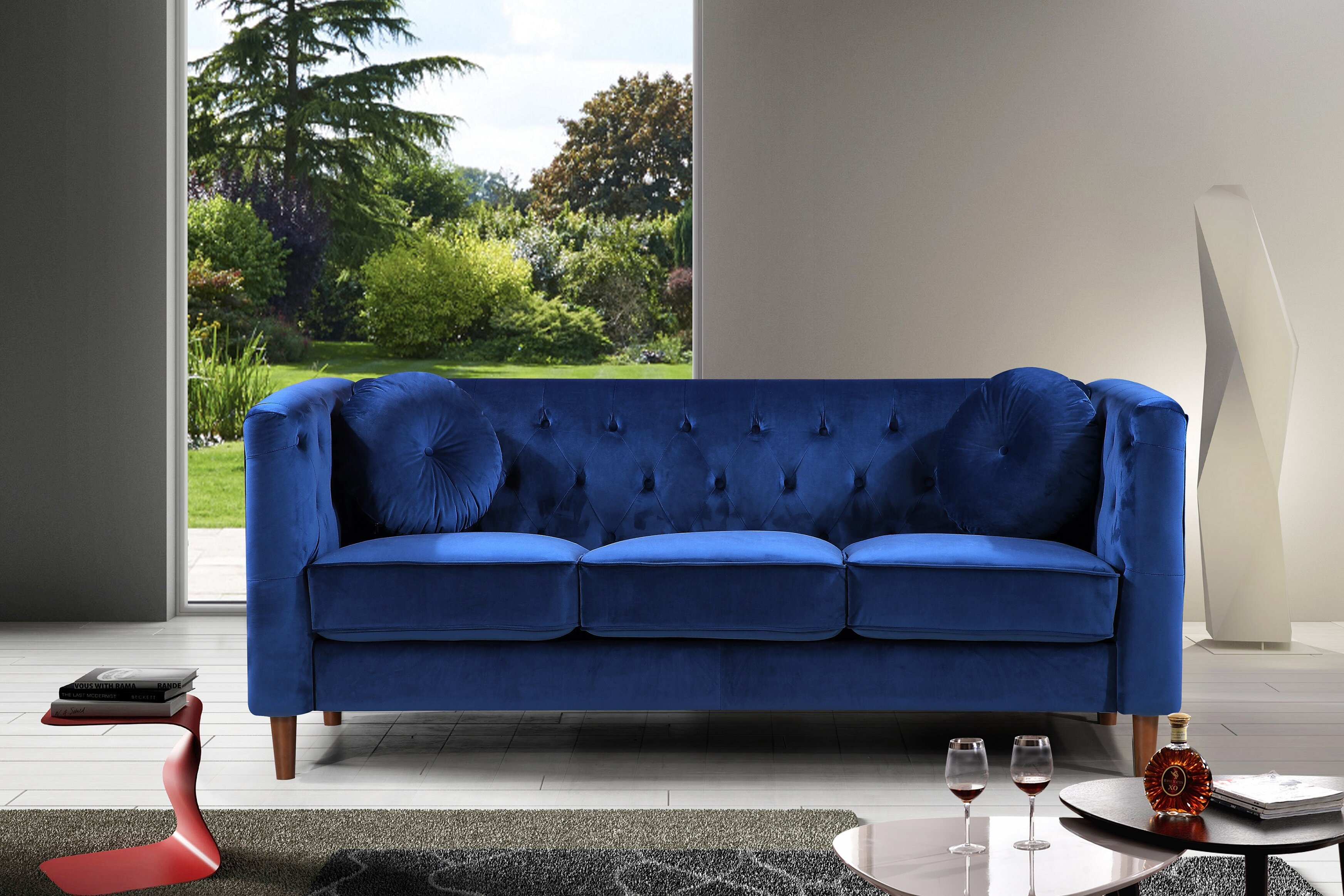 Kitts Classic Chesterfield Sofa