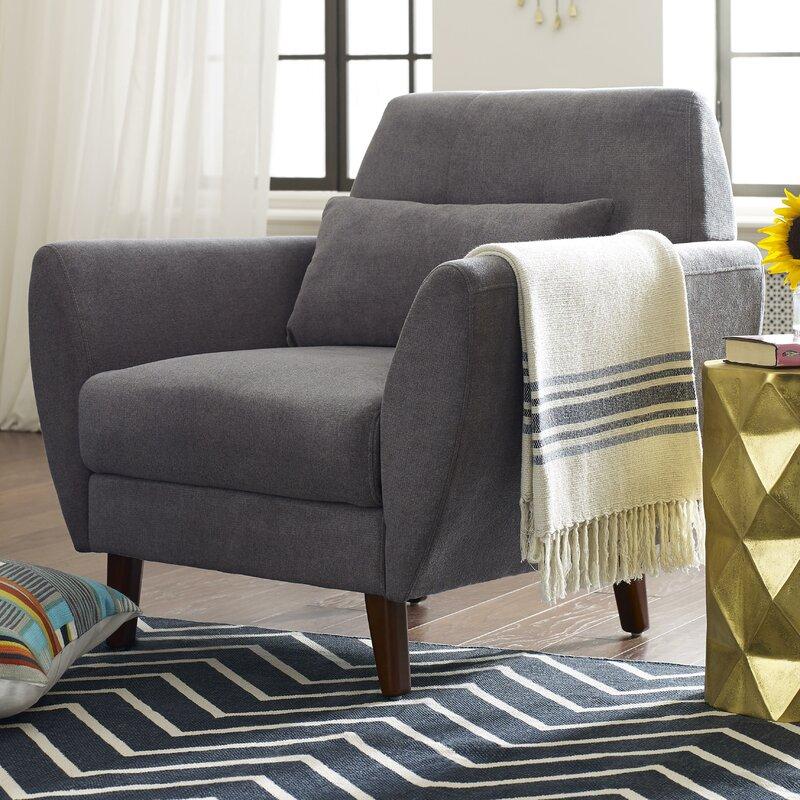 Great Amelie Mid Century Modern Armchair