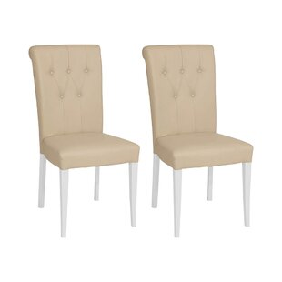 Ziggy Upholstered Dining Chair (Set Of 2) By August Grove