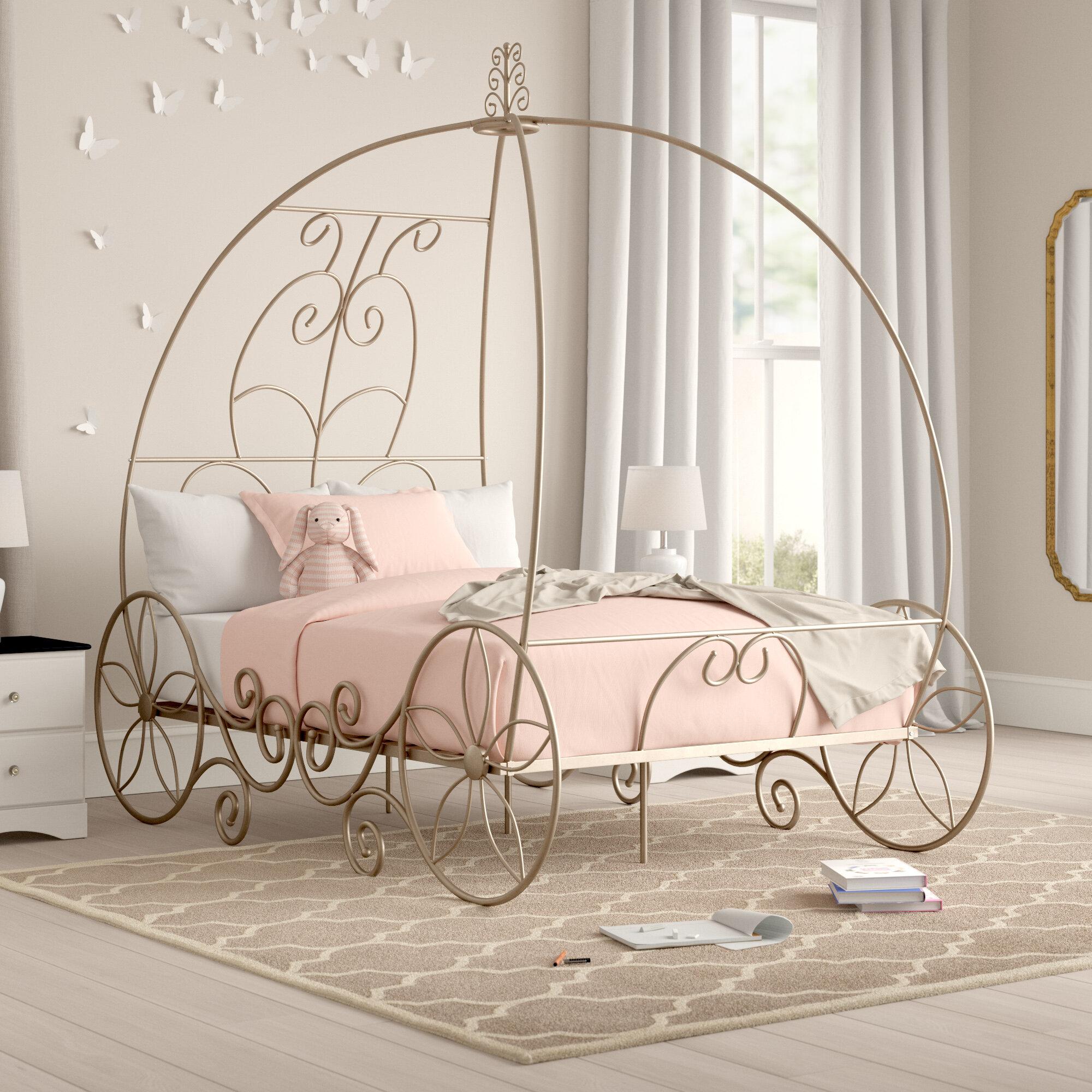 Zoomie Kids Elisha Canopy Bed Reviews