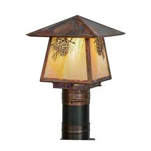 Loon Peak Wyndham Winter Pine 1-Light Lantern Head