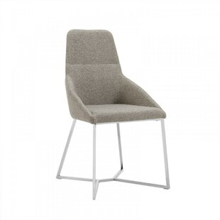 Chute Upholstered Dining Chair (Set of 2) Orren Ellis