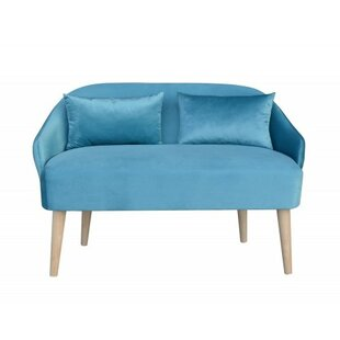 Emi Shetland Mini Children's Sofa And Ottoman By MONKEY MACHINE