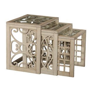Harald 3 Piece Nesting Tables by One Allium Way