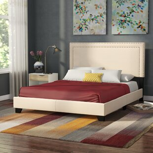 Charlie Upholstered Panel Bed