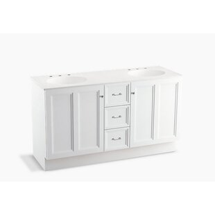 Damask? 60 Vanity with Toe Kick, 2 Doors and 3 Drawers by Kohler