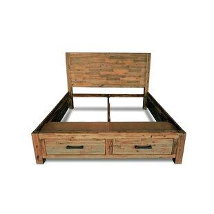 Loon Peak Woodland Storage Bed Frame