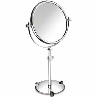 Lanz Circular Makeup/Shaving Mirror ByEverly Quinn
