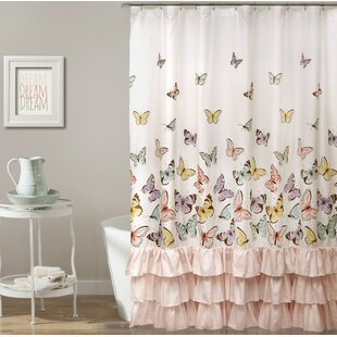 Brant Butterfly Shower Curtain