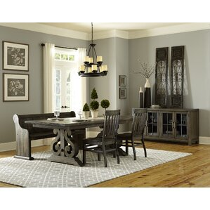 Roswell 4 Piece Dining Set by One Allium Way