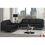 Kase 3 Piece Leather Living Room Set ( 5 Seater ) by Rosdorf Park