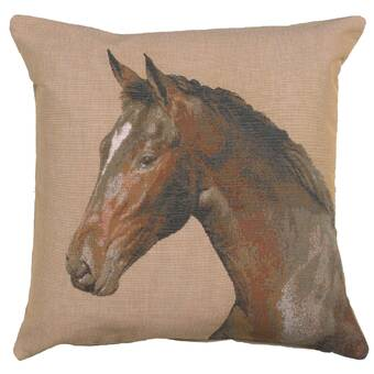 George Oliver Crosslake European Cotton Throw Pillow Cover Wayfair