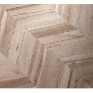 Solorez Chevron 8 x 32 Porcelain Wood Look Tile