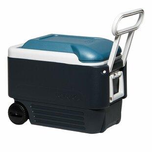40 Qt. Maxcold Rolling Cooler