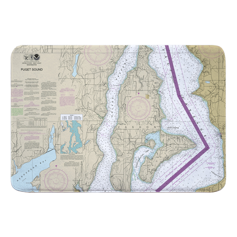 Vashon Island, Maury Island WA Memory Foam Bath Rug on castle island map, pine island fishing map, fidalgo island map, indian island map, blake island map, norman island map, cumberland island map, lake island map, harstine island map, anderson island map, davis island map, strawberry island map, kiket island map, merritt island map, harbor island map, giles island map, sinclair island map, whidbey island map, sullivan island map, shaw island map,