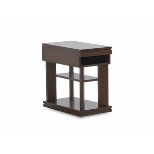 Friedell End Table with Storage