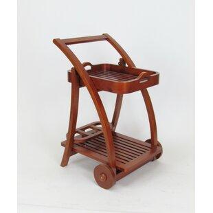 Millwood Pines Weisser Trolley Bar Cart