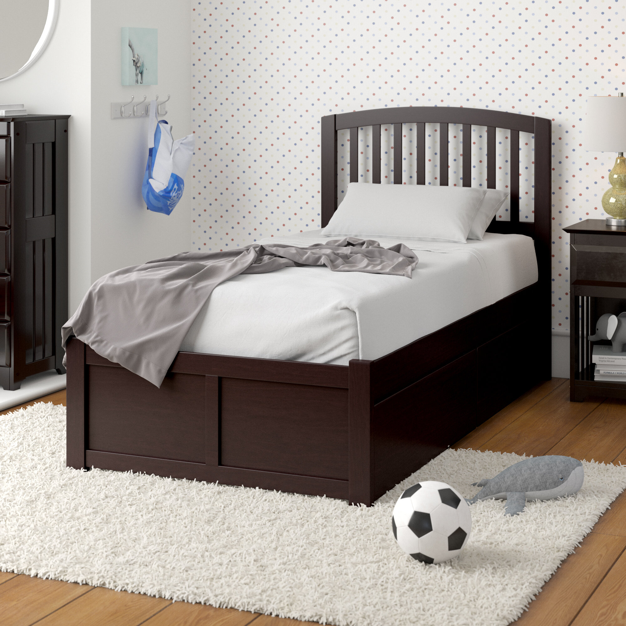 Viv Rae Timmy Extra Long Twin Bed With Drawers Reviews